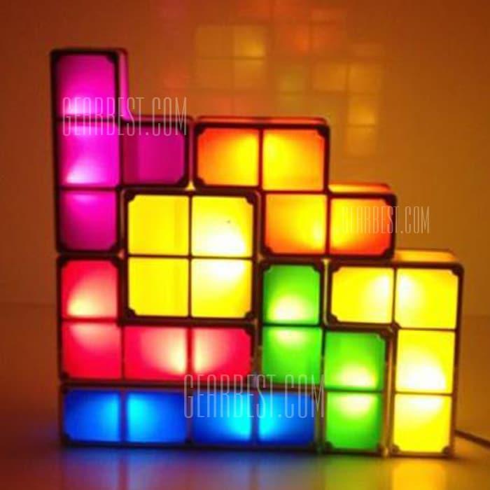 led tetris lampe ab 41 g nstig kaufen 04 2019. Black Bedroom Furniture Sets. Home Design Ideas