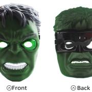 halloween maske hulk led beleuchtung