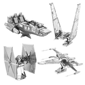 star wars episode 7 metal modelle bausatz