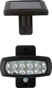 LED-Solarstrahler  bewegungsmelder
