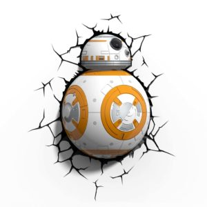 Star Wars BB-8 3D LED Wandleuchte