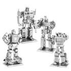Transformers Metall Earth 3D  bausatz