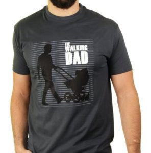The Walking Dad - Herren T-Shirt von Kater Likoli