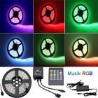 5M LED Streifen  IP67 Wasserdicht, Soundmodul