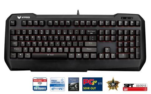 Rapoo VPRO V700 mechanische Gaming Tastatur USB,