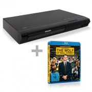 Philips BDP 2385 Blu-ray Player + Wolf of Wall Street Blu-ray