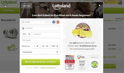 Lotto 6aus49 Tippschein GRATIS (2 Tippfelder)