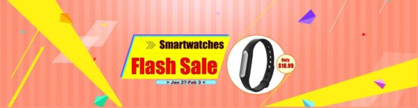 Smartwatches Flash Sale GearBest.com