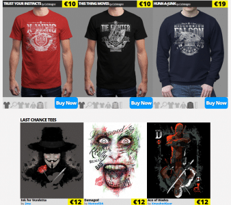 Qwertee  Limited Edition Cheap Daily T Shirts