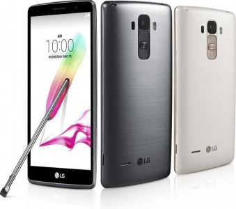 LG Electronics G4 Stylus H635 silber