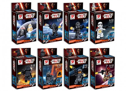 China Space Wars Building Block