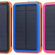 Solarbetriebene Powerbank 48.000 mAh