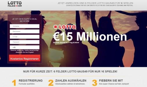 LottoPalace 6 FELDER LOTTO 6AUS49