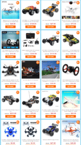 RC Quadcopter Promotion Sale Gearbest.com EU lager