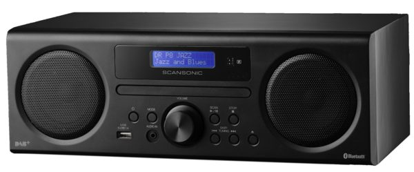Scansonic DA 310 DAB+ Radio schwarz