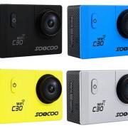 SOOCOO C30 4k aktion kamera action cam