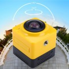 Cube 360 WiFi 360 Degree Wide Angle Action Camera   aktion kamera