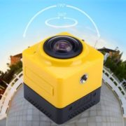 Cube 360 WiFi 360 Degree Wide Angle Action Camera   aktion kamera