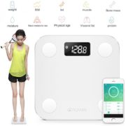 YUNMAI Mini Smart Fat Scales  Mini körperanalyse Waage BMI