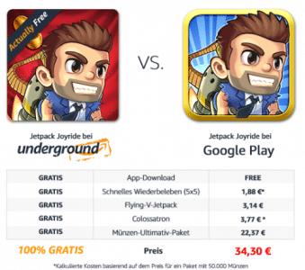-Amazon.de Underground Apps & Spiele
