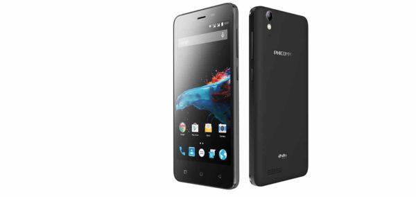 Phicomm Energy 2 schwarz Smartphone