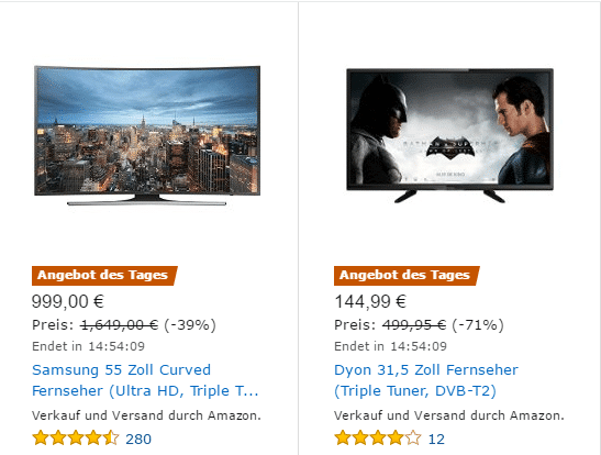 Amazon Angebot des Tages online kaufen (12/2016)