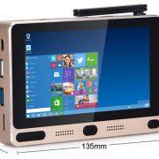 GOLE GOLE1 mini pc 5 zoll touchscreen display dual-boot