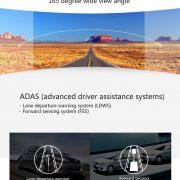 Xiaomi Yi Dashcam car fhd