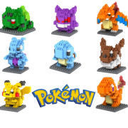 Pokemon Bausatz mini blocks, 14 Modelle