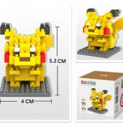 Pokemon Bausatz mini blocks, 14 Modelle
