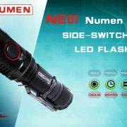 Nitenumen NE01 1000LM Cree XM - L2  k#led taschenlampe 1000 lumen