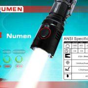 Nitenumen NE01 1000LM Cree XM - L2  k#led taschenlapme 1000 lumen