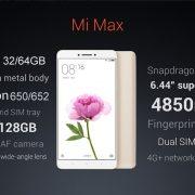 Xiaomi Max 6,44 Zoll LTE, dual-Sim