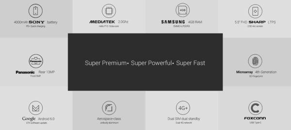 UMI Super 4G Phablet