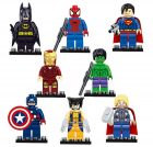 mini Superhelden Figuren Lego Marvel/DC Alternative