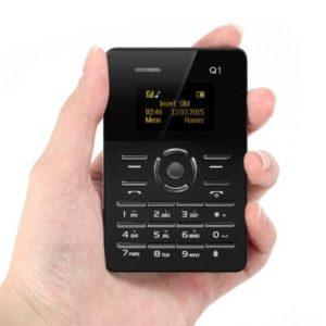 AIEK Q1 Ultra-thin Card Phone