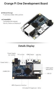 Orange Pi One Development Board kompatibel mit Rasberry Pi