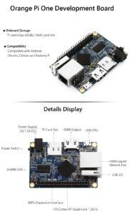 Orange Pi One Development Board kompatibel mit Rasberry Pi