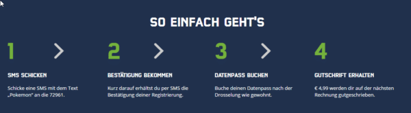 mobilcom-debitel Kunden exclusiver Pokemon Go Daten-Pass geschenkt