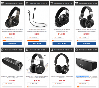 Bluedio of The Audio Brand Flash Sale - GearBest.com