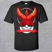 Pokemon Team T-shirts rot blau gelb