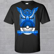 Pokemon Team T-shirts rot blau gelb