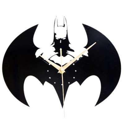 Batman Wanduhr Acrylic Batman Shape Wall Clock