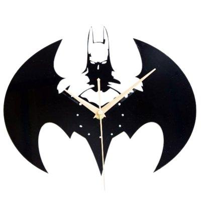 Batman Wanduhr Acrylic Batman Shape Wall Clock