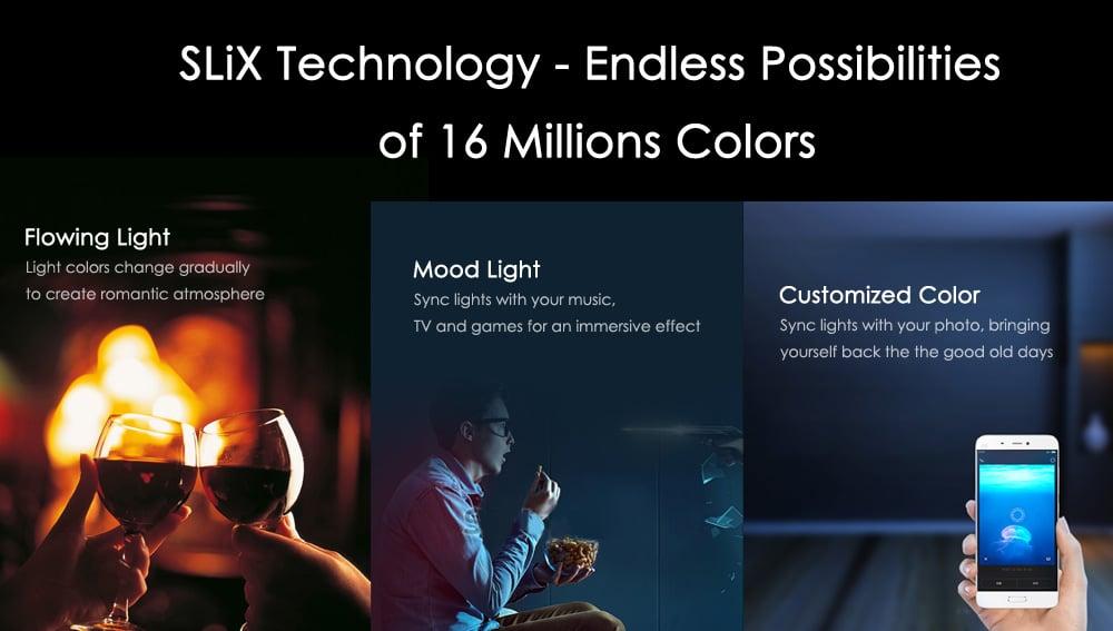 Xiaomi Yeelight E27 LED Lampe Lichtmodi