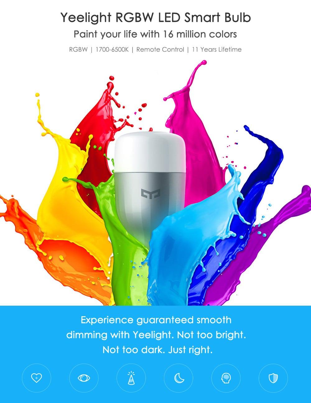 Xiaomi Yeelight E27 LED Lampe