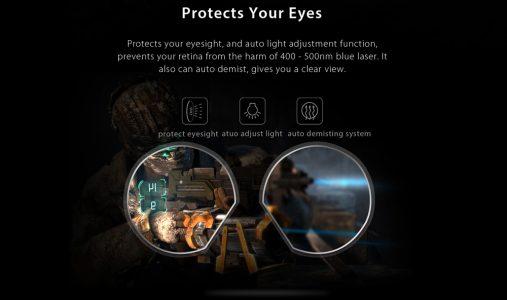 PIMAX 4K UHD Virtual Reality 3D PC Headset mit gutschein für