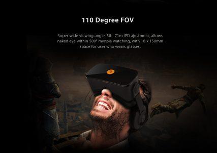 PIMAX 4K UHD Virtual Reality 3D PC Headset