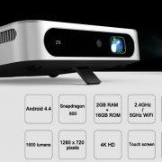 ZTE SPro, WiFi Smart Projector beamer DLP projektor