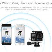 EKEN H8 Pro WiFi 4K Ultra HD Action Camera